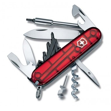 CYBER TOOL S MEDIUM POCKET KNIFE WITH WRENCH AND HEX DRIVE