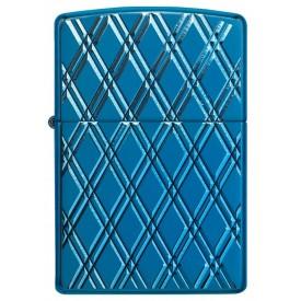 Zippo Lighter 29964 Armor™ High Polish Blue Diamonds