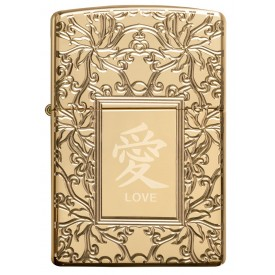 Zippo Lighter 49022 Armor™ The Chinese symbol of Love