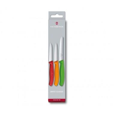 SWISS CLASSIC PARING KNIFE SET, 3 PIECES