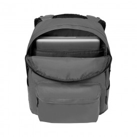 """PHOTON 14"""" LAPTOP COATED SECURITY BACKPACK WITH TABLET POCKET, Grey"""