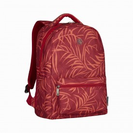 """COLLEAGUE RED 16"""" LAPTOP BACKPACK WITH TABLET POCKET"""