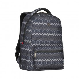 """COLLEAGUE BLACK 16"""" LAPTOP BACKPACK WITH TABLET POCKET"""