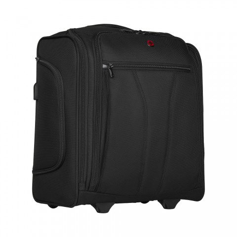 BC ROLL UNDERSEAT WHEELED BRIEFCASE WITH 14'' LAPTOP COMPARTMENT