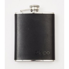 Zippo leather hip flask 177 ml