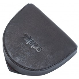Zippo Leather Coin Pouch Mocha