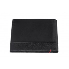 Zippo Nappa Bi-Fold Wallet Black