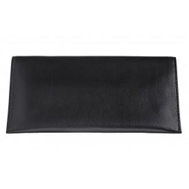 Zippo Nappa Bi-Fold Tobacco Pouch Black