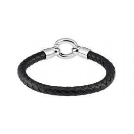 Zippo Leather Bracelet With O Ring 20 cm