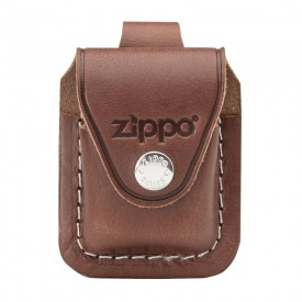 Zippo Brown Lighter Pouch- Loop